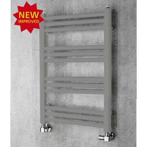 Additional image for Heated Ladder Rail & Wall Brackets 759x500 (Grey Aluminium).