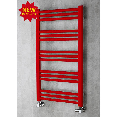 Additional image for Heated Ladder Rail & Wall Brackets 964x500 (Flame Red).