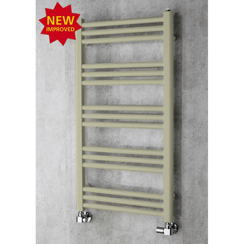 Additional image for Heated Ladder Rail & Wall Brackets 964x500 (Pebble Grey).