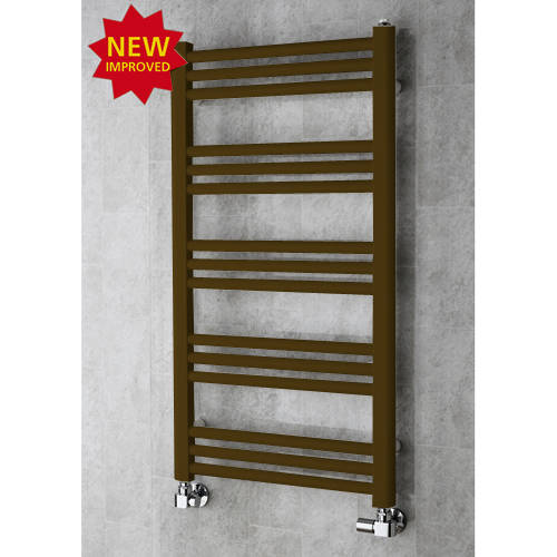 Additional image for Heated Ladder Rail & Wall Brackets 964x500 (Nut Brown).