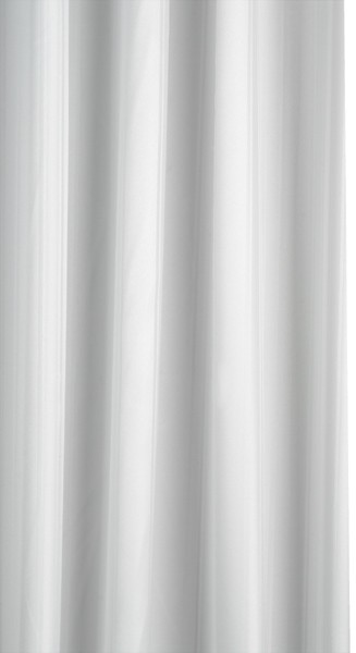 Additional image for Shower Curtain & Rings (White, 2000x2000 mm).