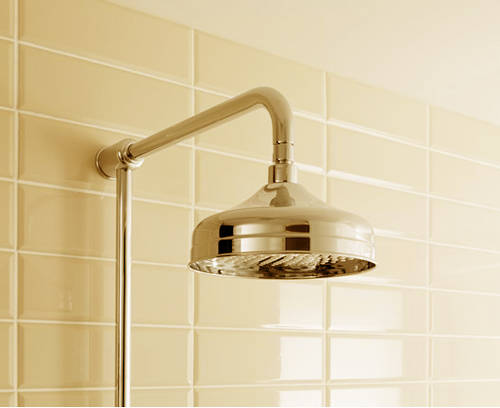 Additional image for Thermostatic 2 Outlet Shower Kit (Unlac Brass).