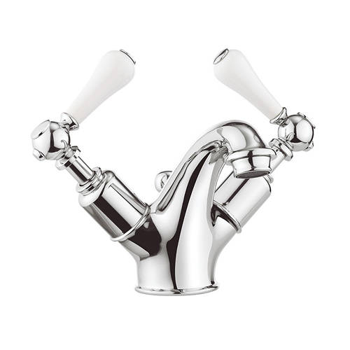 Additional image for Basin Mixer Tap With Waste (Lever, Chrome).