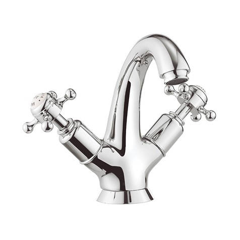 Additional image for Highneck Basin Mixer Tap (Crosshead, Chrome).