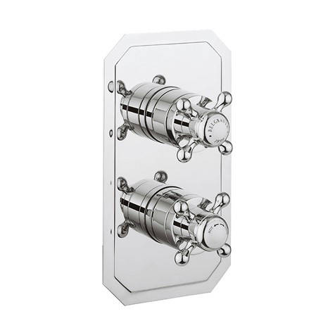 Additional image for Crosshead 2 Outlet Shower Valve (Vertical, Chrome).