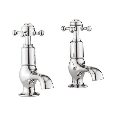Additional image for Basin Taps (Crosshead, Chrome).