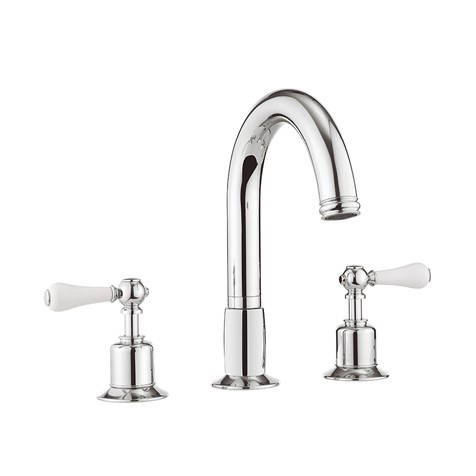 Additional image for 3 Hole Bath Filler Tap (Lever, Chrome).