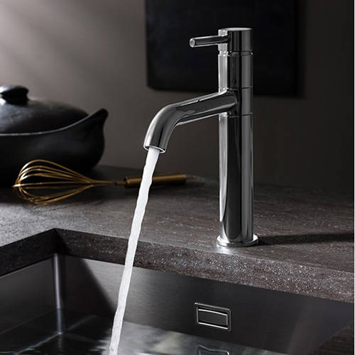 Additional image for Design Single Lever Kitchen Tap (Stainless Steel).