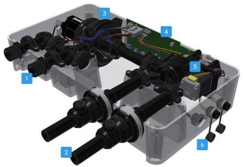 Additional image for Digital Shower With Slide Rail Kit (HP).