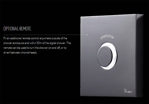 Additional image for Digital Shower Pack 05 With Remote (HP).