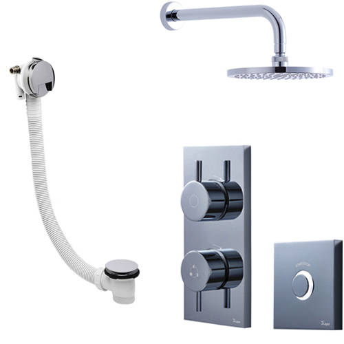 Additional image for Digital Shower Pack 07 With Remote (HP).