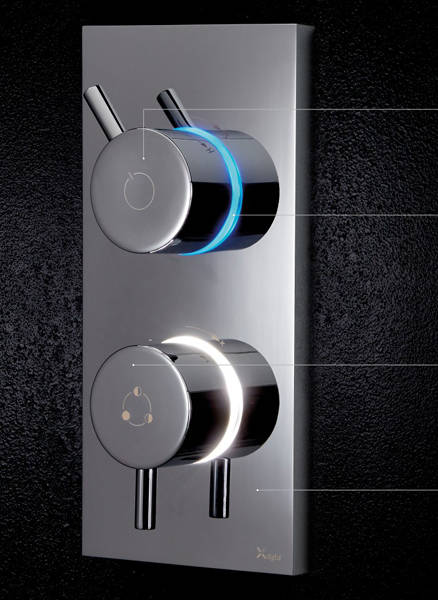 Additional image for Digital Shower With Head & Bath Filler (LP)