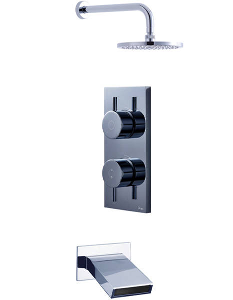 Additional image for Digital Shower, Head & Slip Bath Spout (LP).