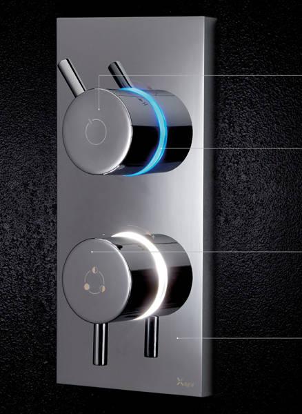 Additional image for Digital Shower, Head & Bath Spout (LP).
