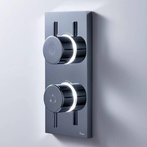 Additional image for Digital Shower With Bath Filler & Kit (HP)