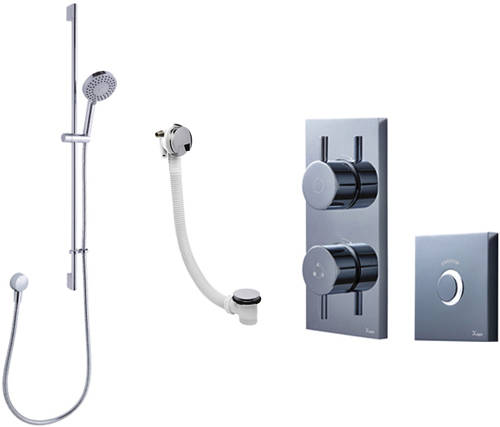 Additional image for Digital Shower Pack 09 With Remote (HP).
