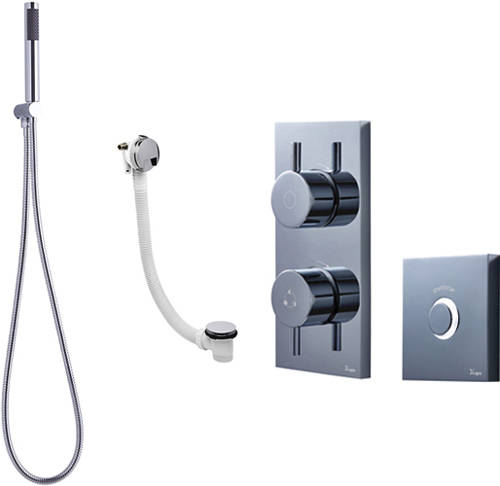 Additional image for Digital Shower Pack 10 With Remote (HP).