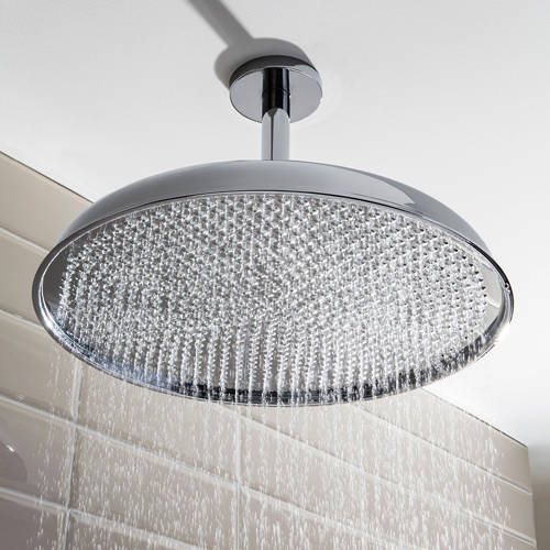 Additional image for 450mm Round Shower Head (Chrome).