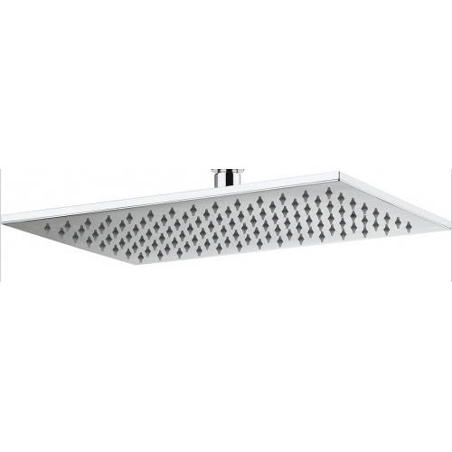 Additional image for Rectangular Shower Head 340x220mm (Chrome).