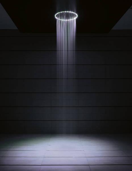 Additional image for Rio White LED Shower Head (240mm diameter).