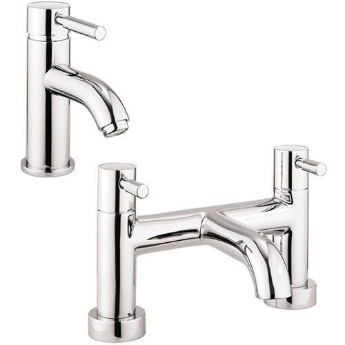 Additional image for Basin & Bath Filler Tap Pack (Chrome).