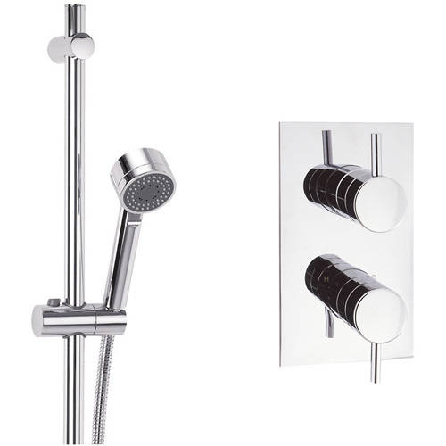Additional image for Thermostatic Shower Valve With Slide Rail Kit.