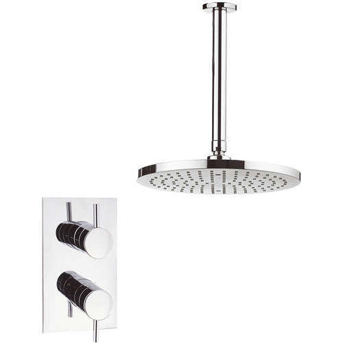 Additional image for Thermostatic Shower Valve, 250mm Round Head & Arm.
