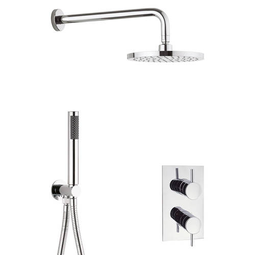 Additional image for Thermostatic Shower Bundle (Chrome).