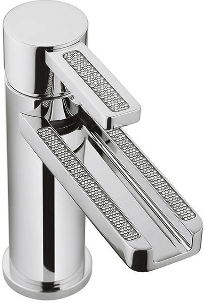 Additional image for Glitter Waterfall Basin Mixer Tap With Lever Handle.