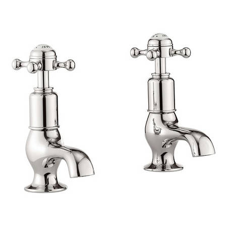 Additional image for Basin Taps (Crosshead, Nickel).