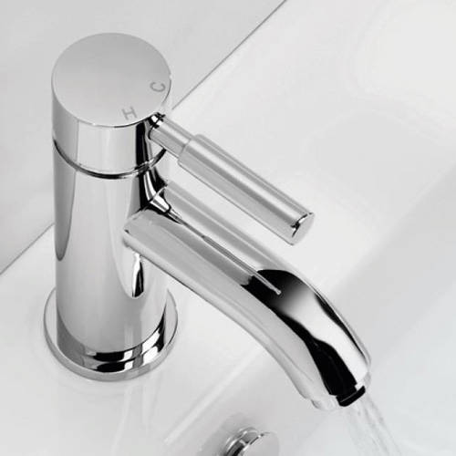 Additional image for Basin Mixer Tap With Waste (Chrome).