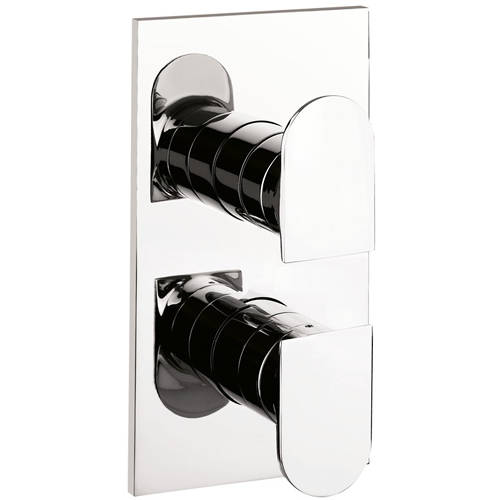Additional image for Thermostatic Shower Valve (1 Outlet, Chrome)).