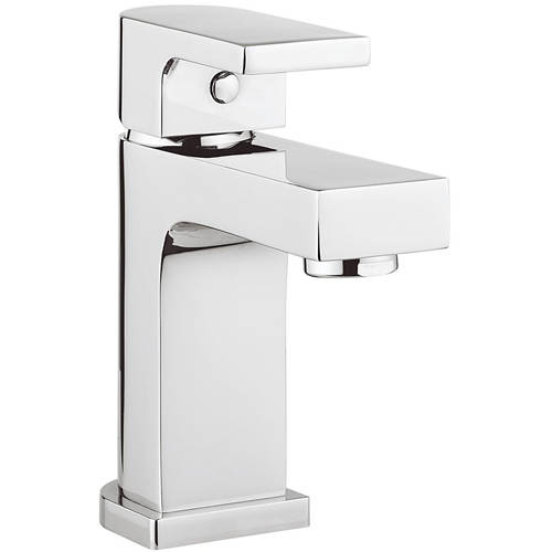 Additional image for Mini Basin Mixer Tap With Waste (Chrome).