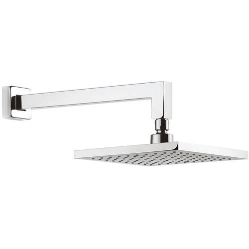 Additional image for Square Shower Head & Wall Arm (200x200mm).
