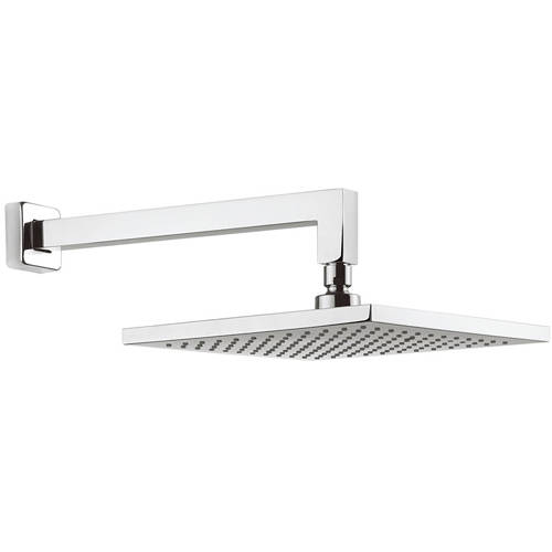 Additional image for Square Shower Head & Wall Arm (250x250mm).