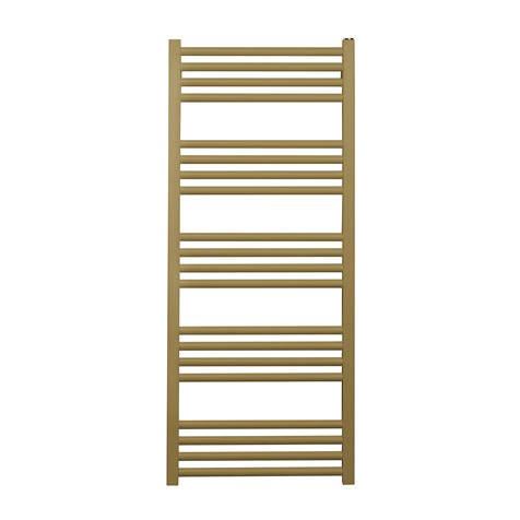Additional image for Heated Towel Radiator 480x1140mm (B Brass).
