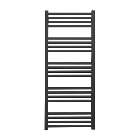 Additional image for Heated Towel Radiator 480x1140mm (M Black).