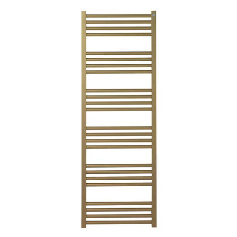 Additional image for Heated Towel Radiator 480x1380mm (B Brass).