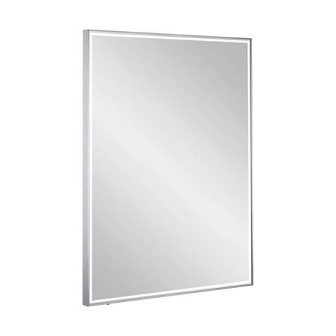 Additional image for Lit Mirror LED 600x800mm (Brushed Aluminium Frame).