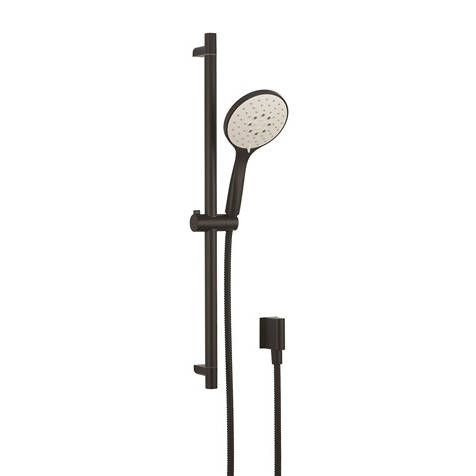 Additional image for Slide Rail Shower Kit (Matt Black).