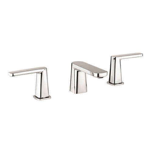 Additional image for 3 Hole Basin Mixer Tap (Chrome).