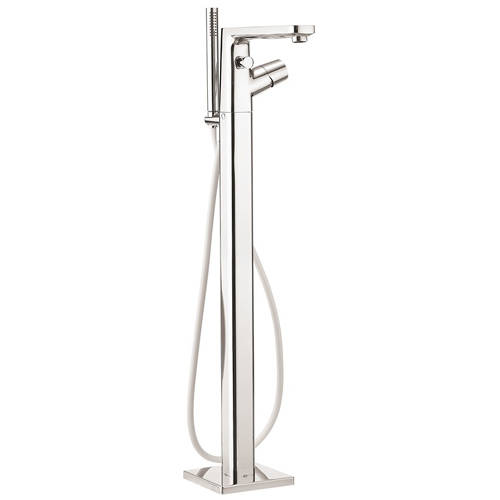 Additional image for Floor Standing Bath Shower Mixer Tap & Kit (Chrome).