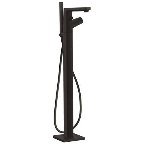 Additional image for Floor Standing Bath Shower Mixer Tap & Kit (Matt Black).