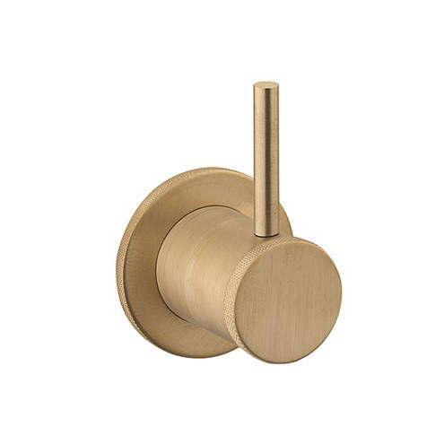 Additional image for 2 Way Shower Diverter (Unlacquered Br Brass).