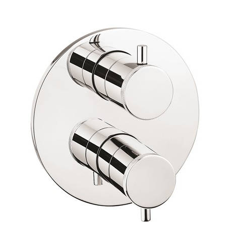 Additional image for Crossbox 3 Outlet Shower Valve (Chrome).
