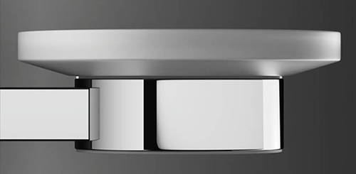 Additional image for Wall Mounted Soap Holder (Chrome).