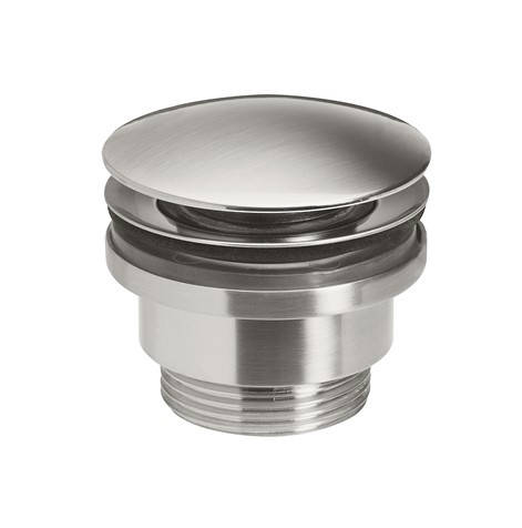 Additional image for Click Clack Basin Waste (Brushed Stainless Steel).