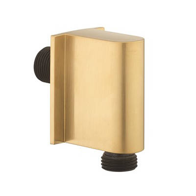 Additional image for Shower Wall Outlet (Brushed Brass).