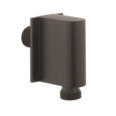 Additional image for Shower Wall Outlet (Matt Black).