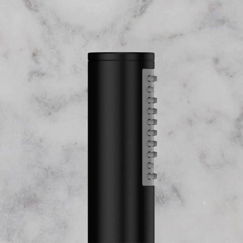Additional image for Designer Shower Handset & Bracket Outlet (M Black).